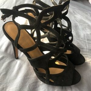 Saks fifth Ave strappy heel